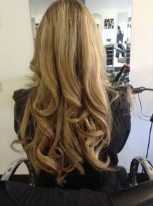Big bouncy blow dry